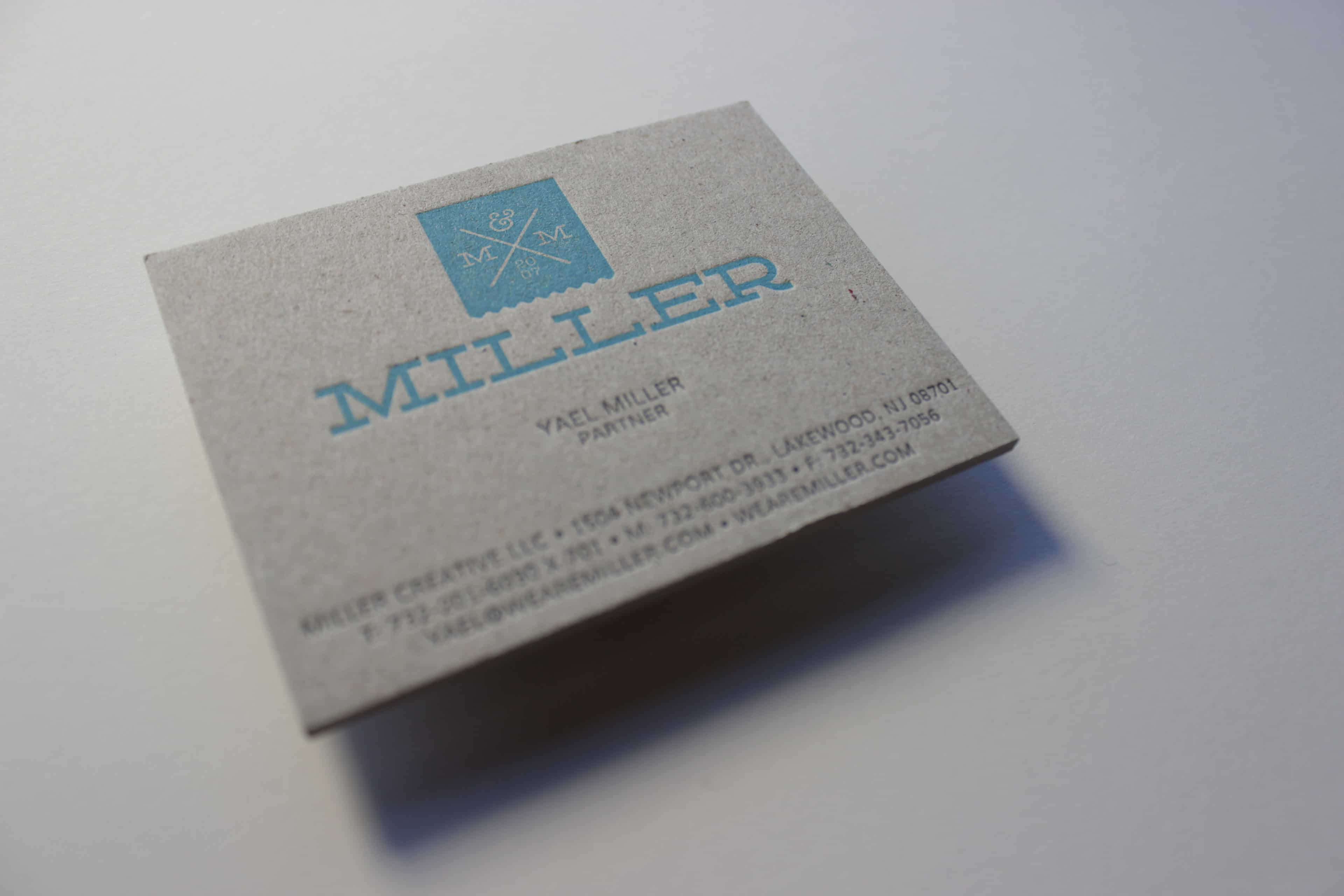 Business Cards and Letterhead C – Nomadic Letter Press