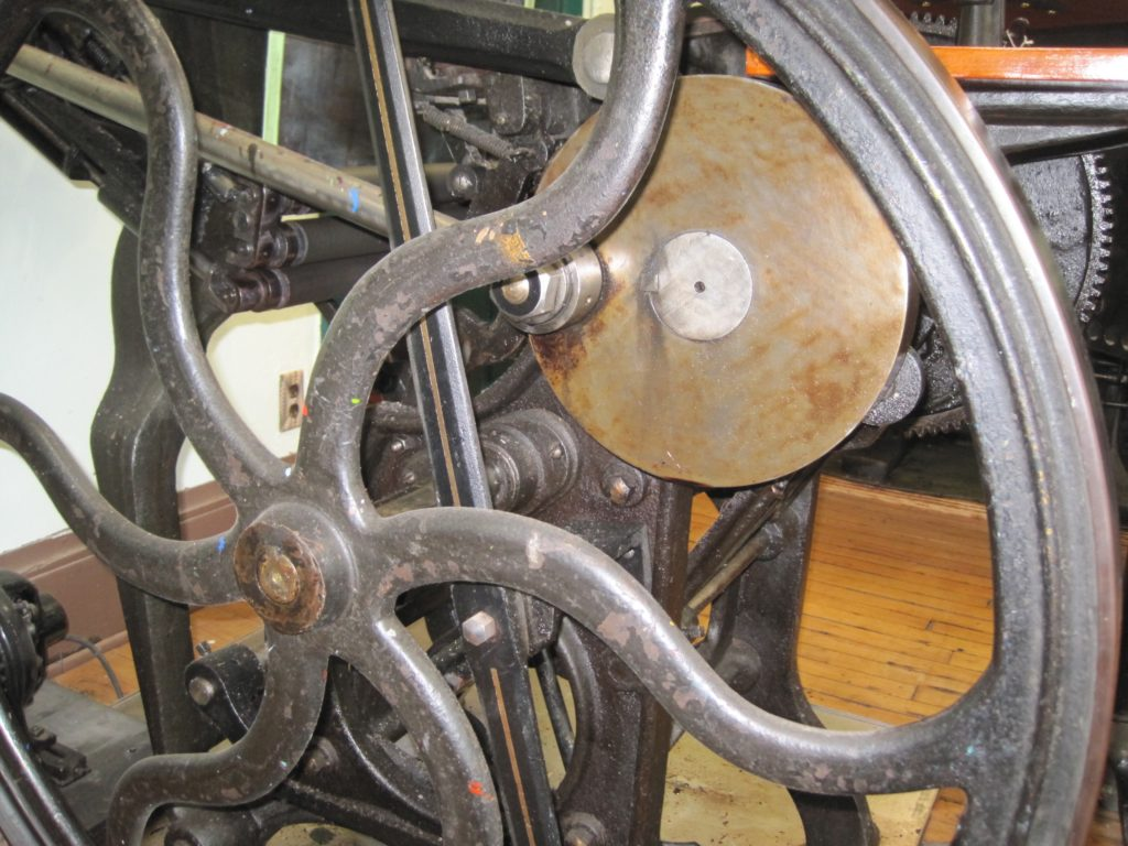 Letterpress Flywheel