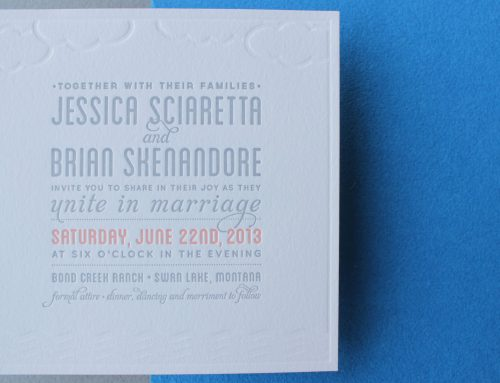 Invitations and Announcements B
