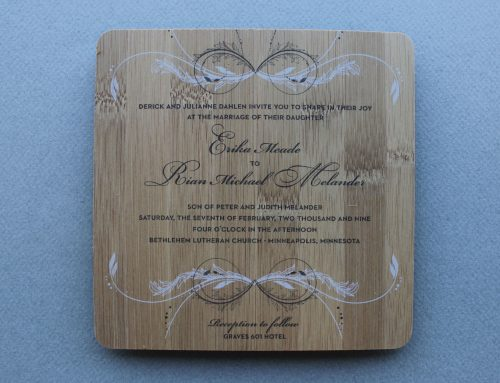 Invitations and Announcements C
