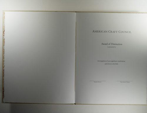 American Craft Council Award